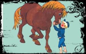 Emil i Lønneberget, Alfred, alle barn trenger en Alfred, løvetannbarn