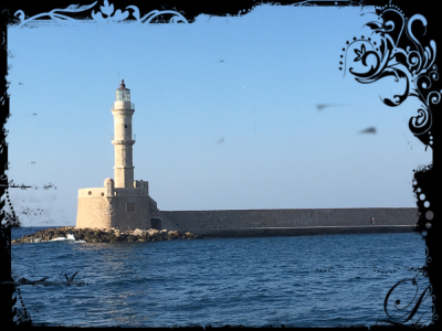 The oild venetian harbour of chania, greece, crete, platanias, Agri Marina, ferie, Hellas, vacation,