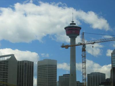 Calgary visit canada calgary tower Rocky Mountains