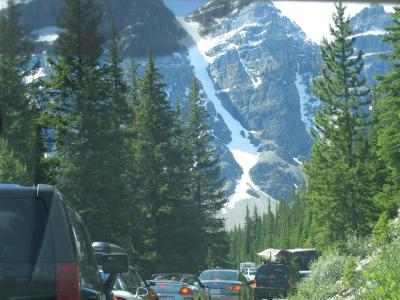 Valley of the ten peaks Banff Jasper Canada Alberta