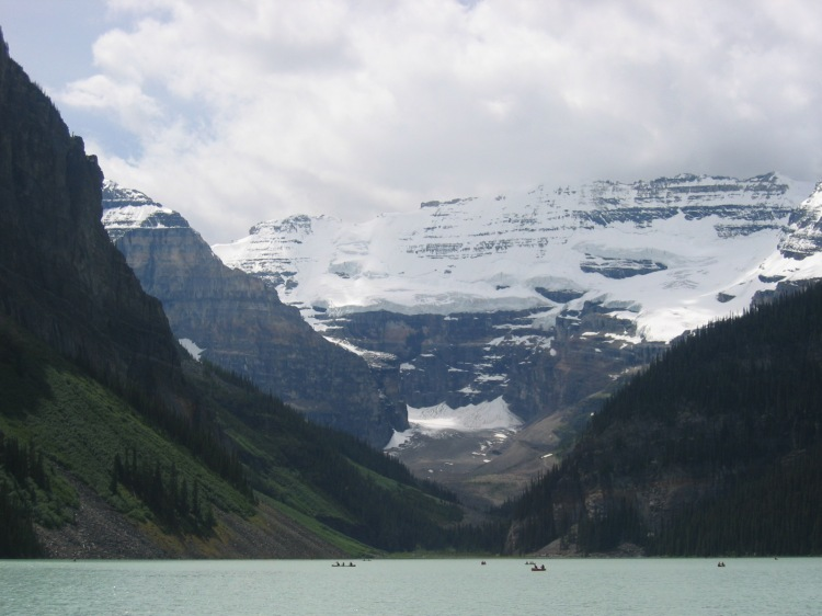 Lake Louise Banff Rocky moutains canada