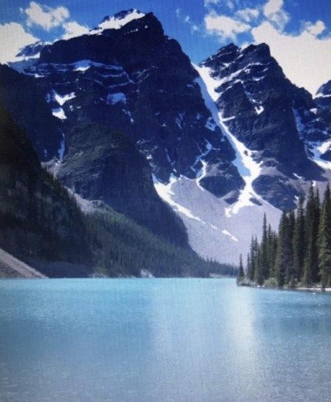 Moraine Lake Banff nationalepark canada