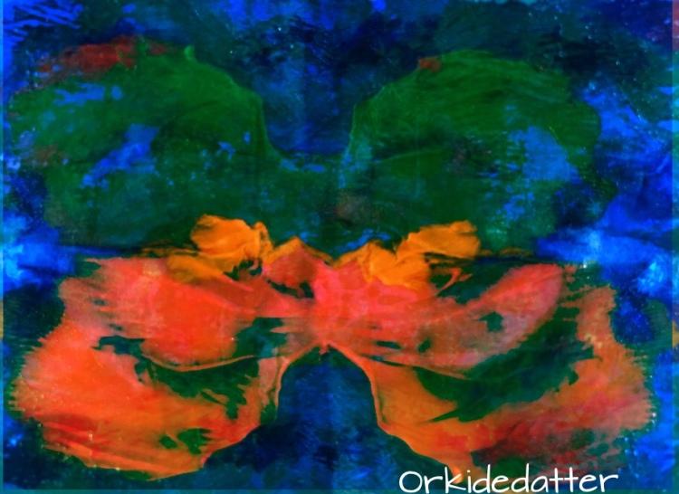 Poem dikt orkidedatterart butterfly norwegian blogger