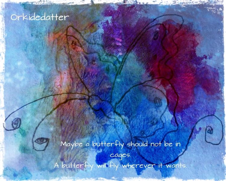 Poem Norwegian blogger trust orkidedatterart