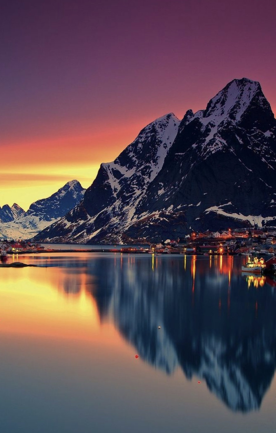 #photo #Norway #sunset #visitnorway